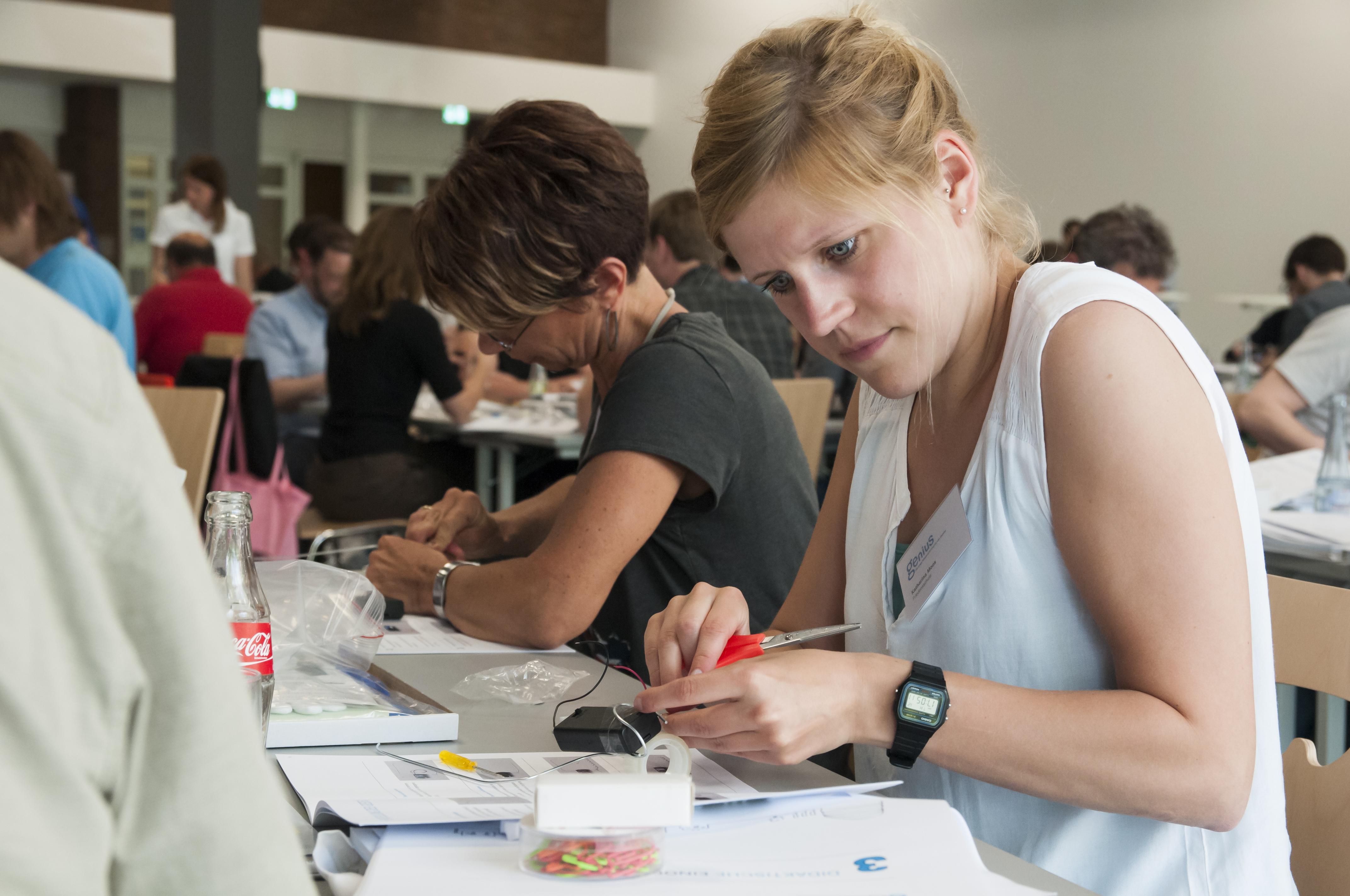 Genius für Lehrkräfte: Bildungsinitiative von Daimler für den Technikunterricht