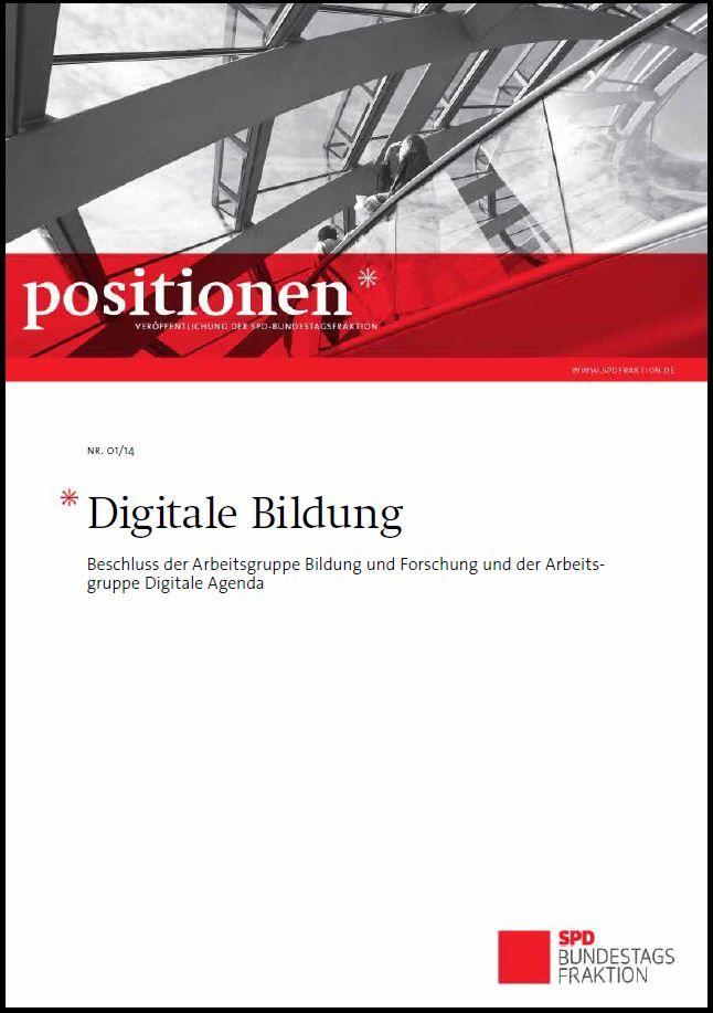 """""""Netzpolitik ist Gesellschaftspolitik"""" – Positionspapier SPD zur Digitalen Bildung vorgestellt"""