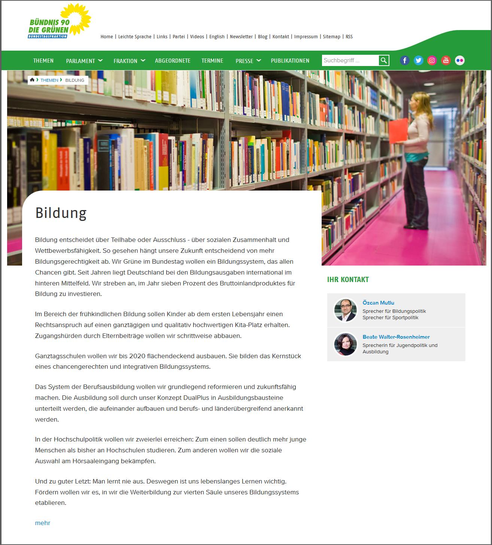Neues Lernen und Lehren – Positionen von Bündnis 90 / Die Grünen zur Digitalen Bildung