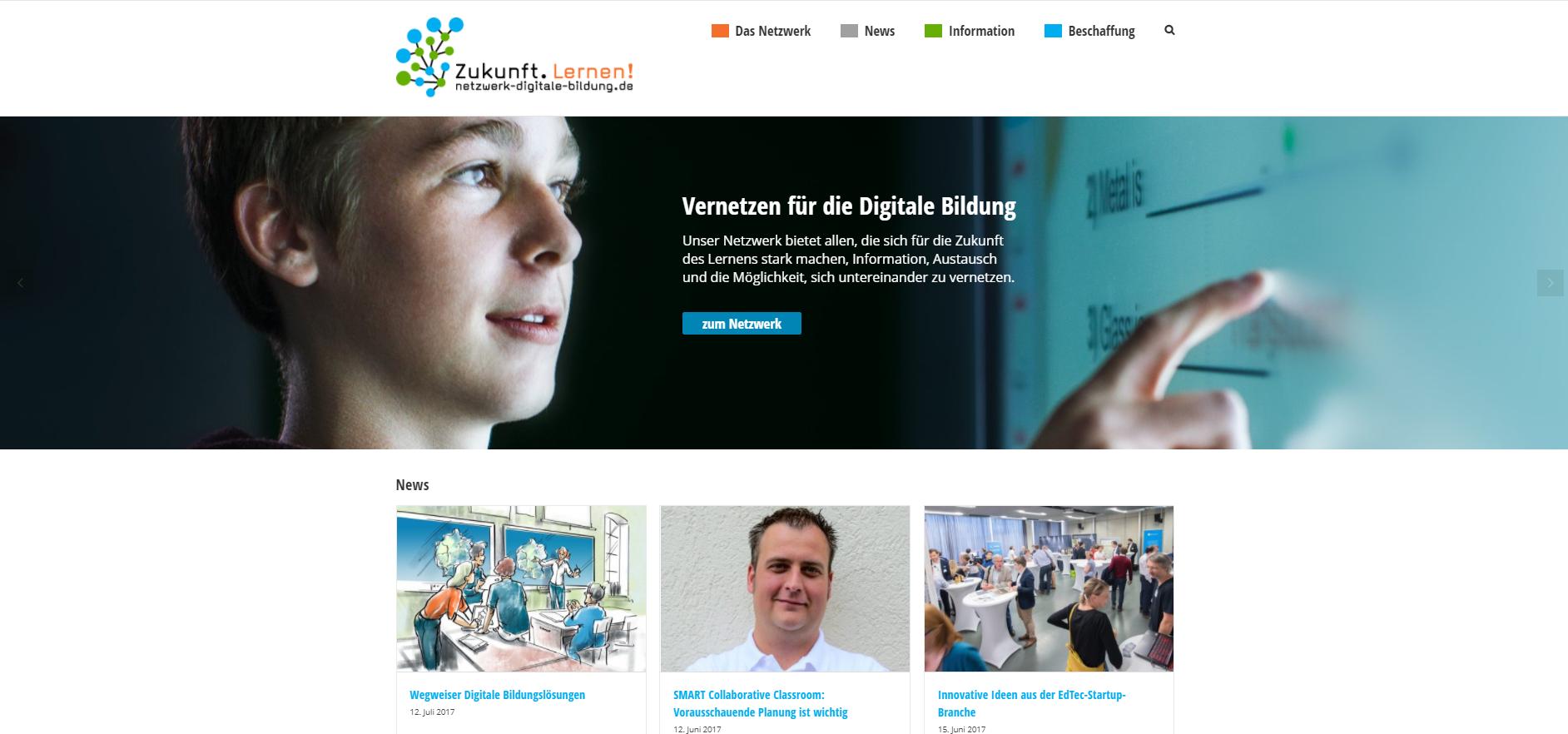 """Offen, meinungsstark, Orientierung gebend – Das """"Netzwerk Digitale Bildung"""""""