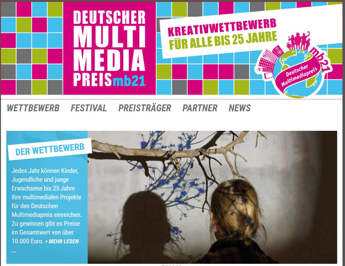 Ein Forum für digitale Medienkultur: Der Deutsche Multimediapreis mb21