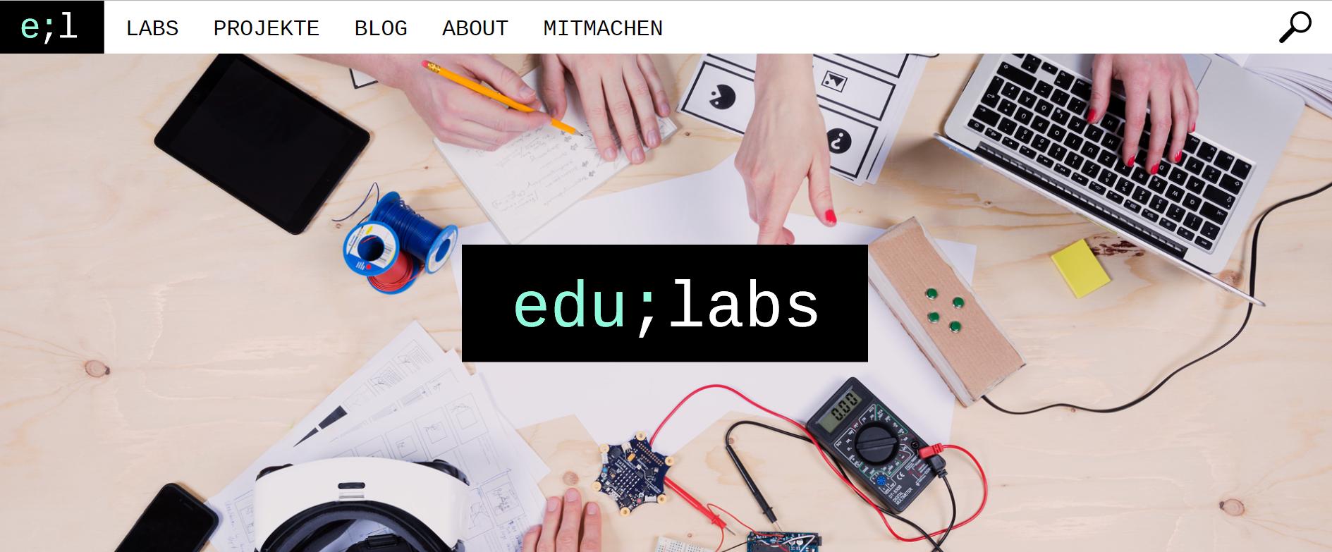 Lokal, digital, frei zugänglich – Wie das Projekt edulabs die Digitale Bildung demokratisieren will