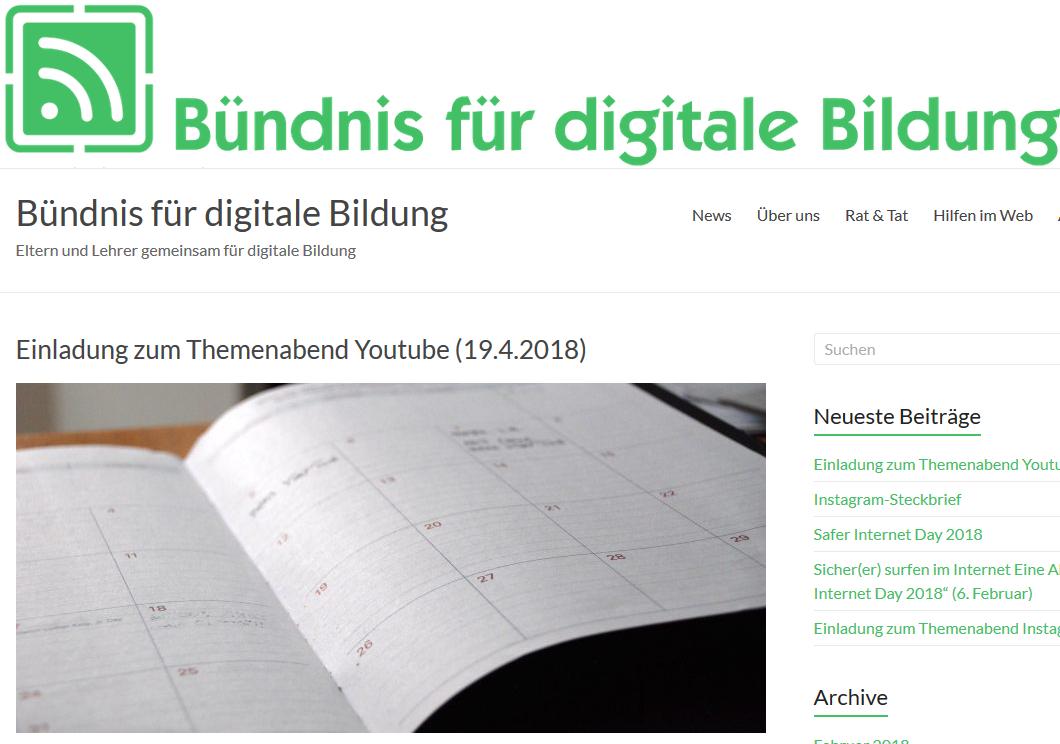Lokal und digital: Das Bündnis für digitale Bildung