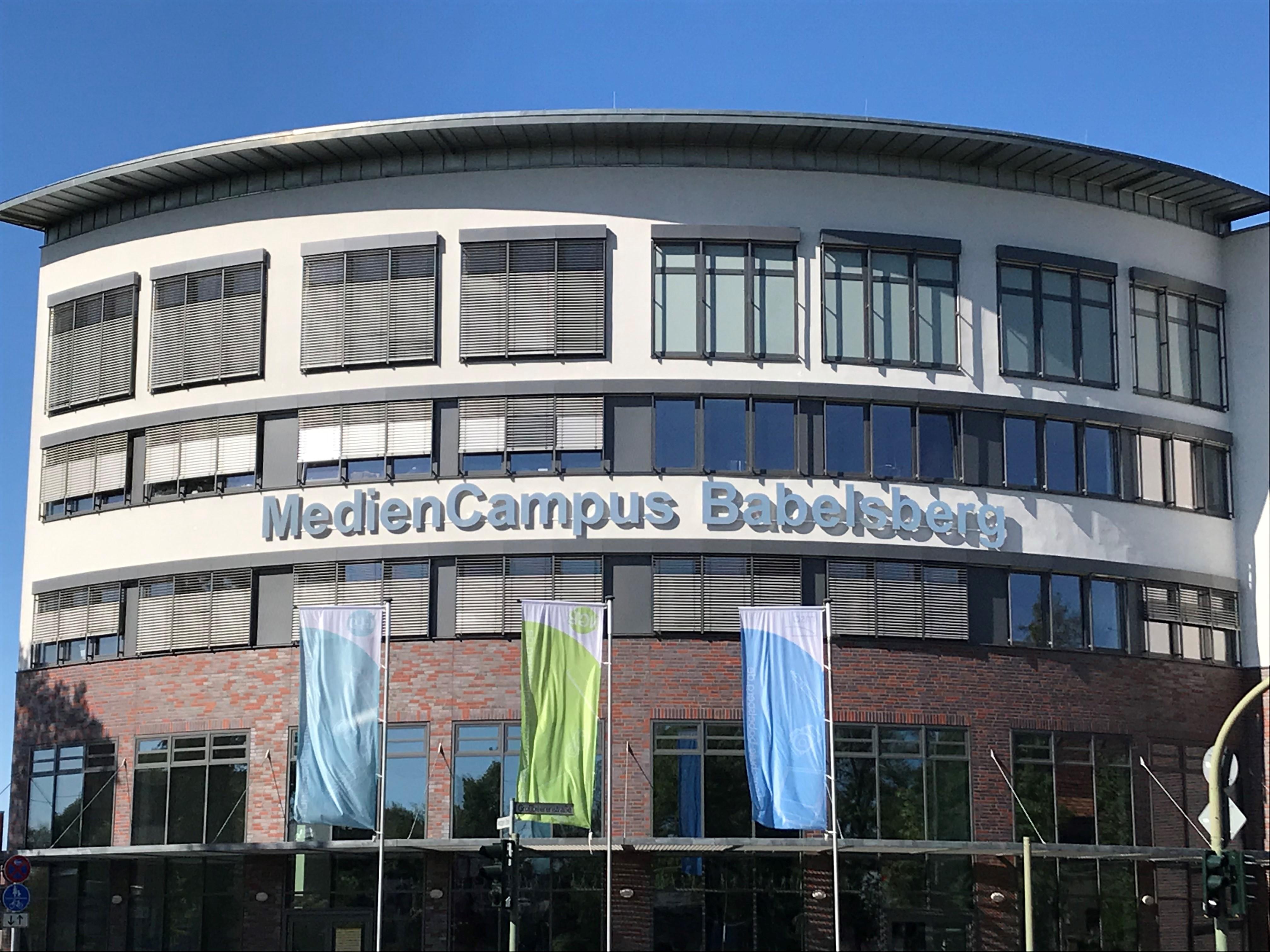 Mediencampus Babelsberg – zwei Schulen machen sich auf den Weg