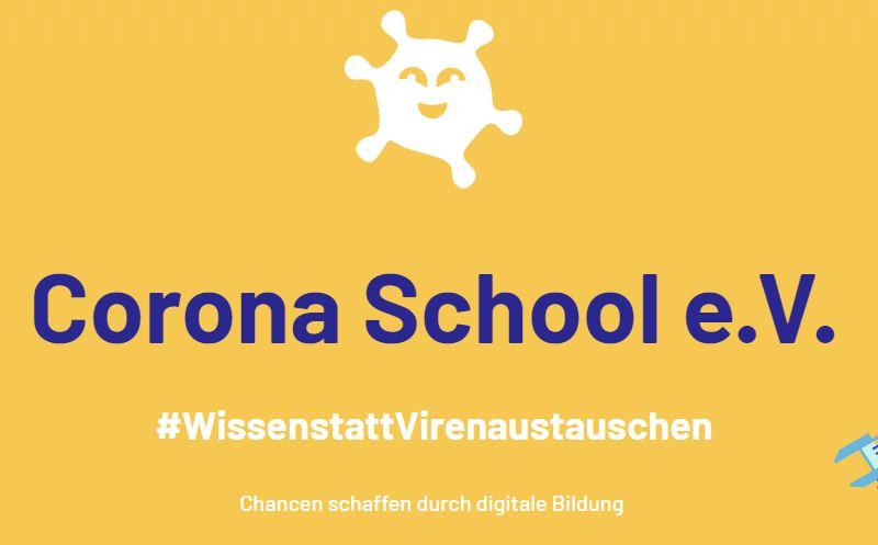 Die Corona School: Kostenlose Online-Lernbetreuung für Schüler*innen