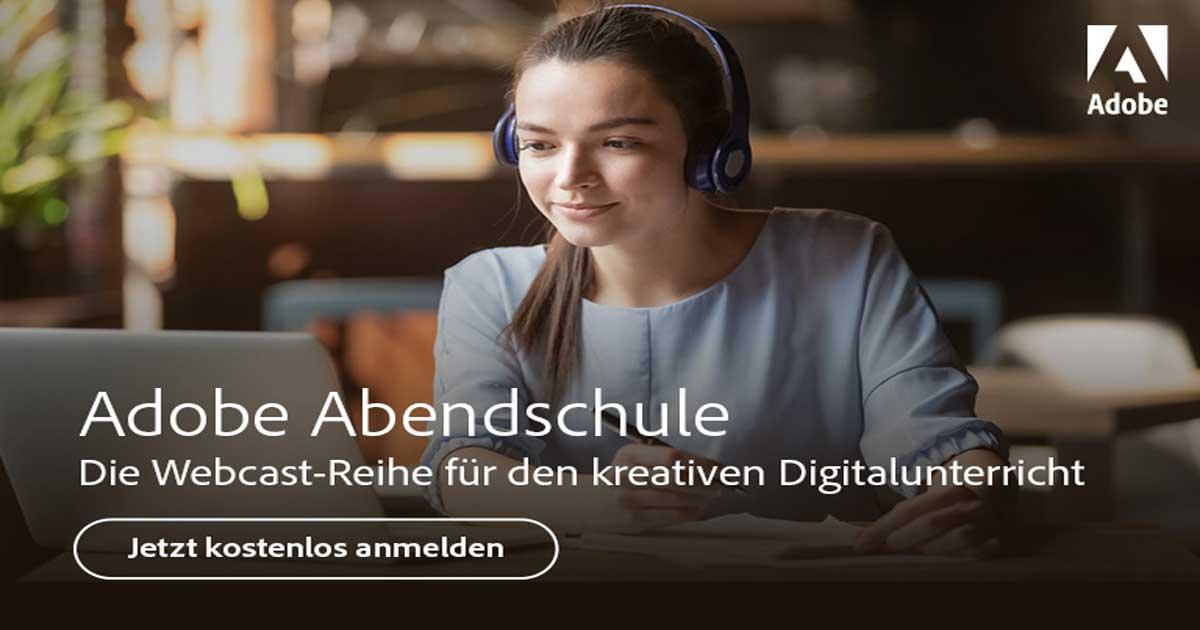 Adobe Abendschule: Neue Ideen für den digitalen Unterricht