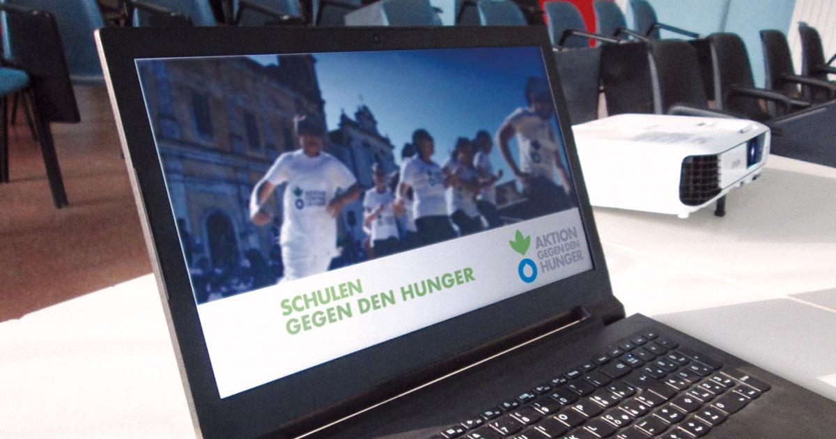 Schulen gegen den Hunger: digitales Lernen trifft soziales Engagement