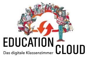 Logo-Education-Cloud-Figuren-digitales Klassenzimmer