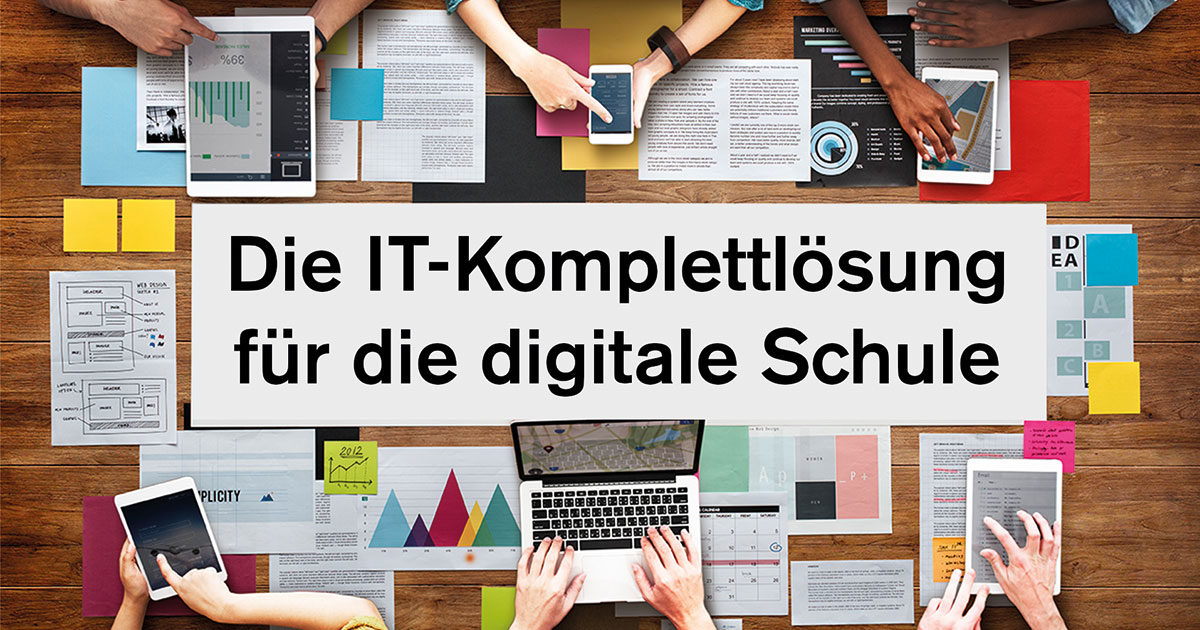 WLAN, BYOD, DSGVO & Co. – Die einfache Komplettlösung für die digitale Schule von morgen
