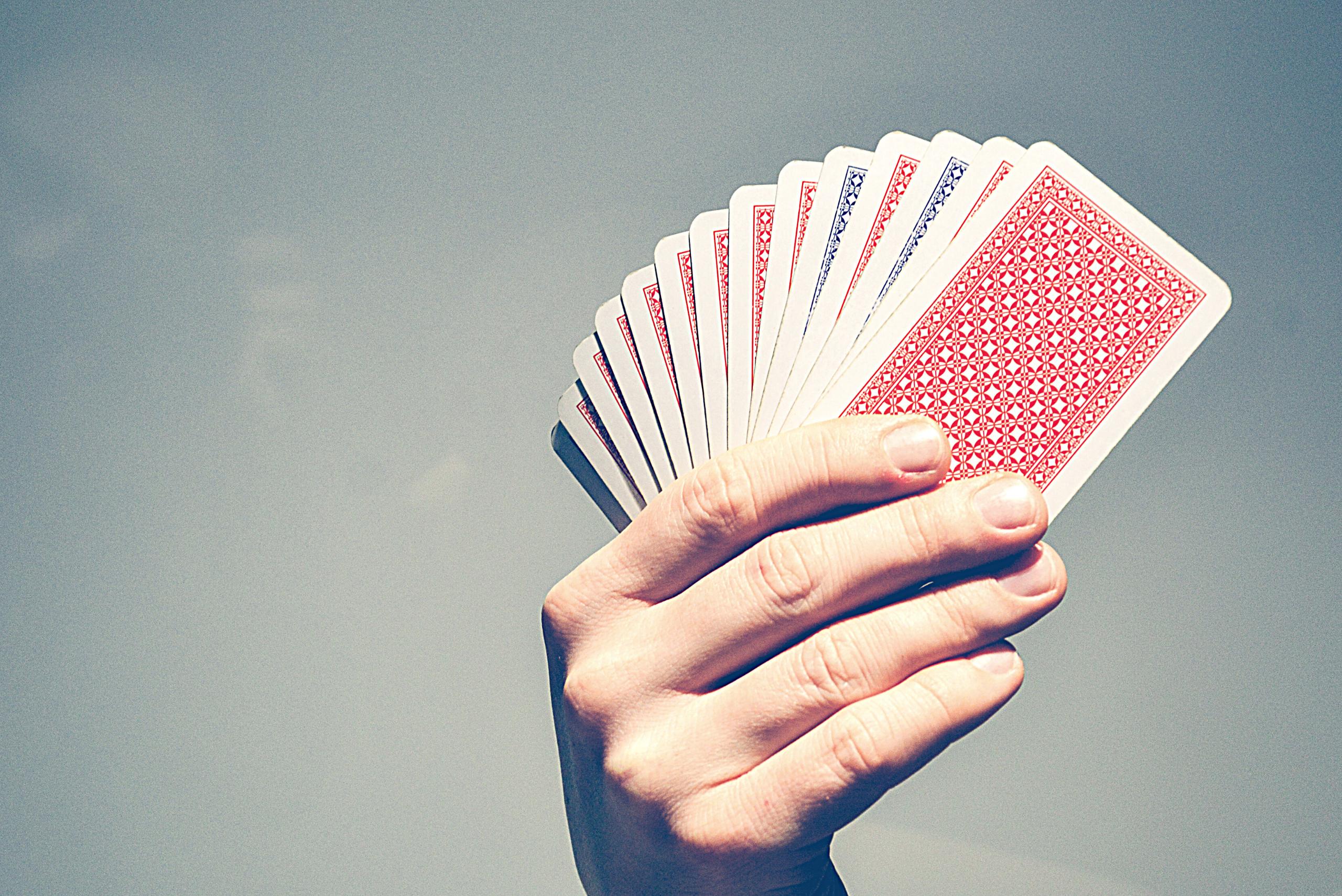 Mit analogem Kartenspiel zur digitalen Idee?