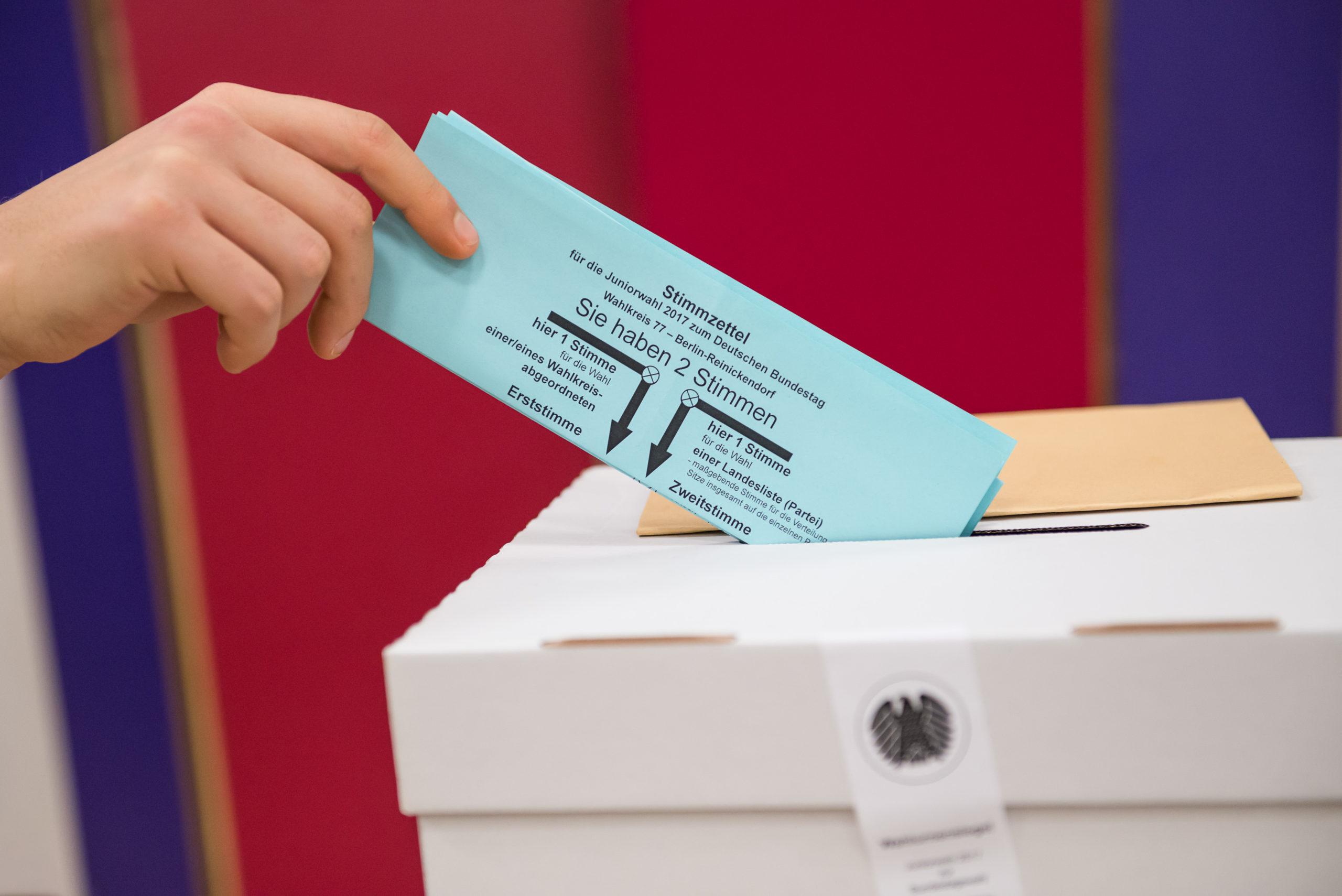 Demokratie üben: Die Juniorwahl